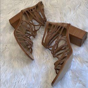 Rag & Bone Tan  Suede Sandals Size 11 NWOB